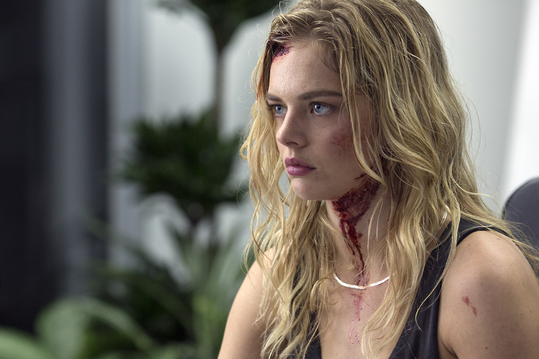 MAYHEM 10 - Samara Weaving Gives Us A Look At Mayhem!