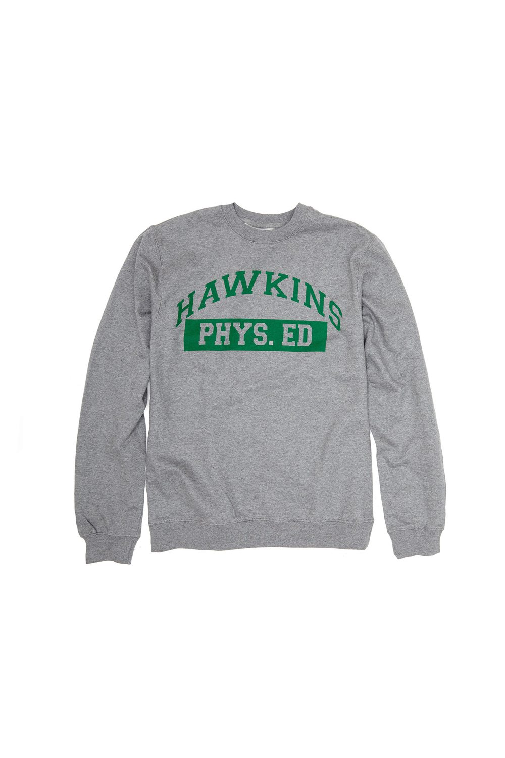 Mens Apparel Hawkins High Crewneck - New Stranger Things Season 2 Merchandise on the Way as BoxLunch Teams with Netflix