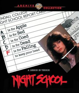Night School 1981 256x300 - DVD and Blu-ray Releases: October 24, 2017