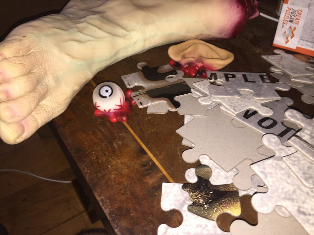 Saw Puzzle 3 - Dread Central Puzzled by #Jigsaw