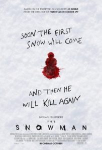 Snowman The 203x300 - Horror Box Office – OPENING THIS WEEK: October 20, 2017