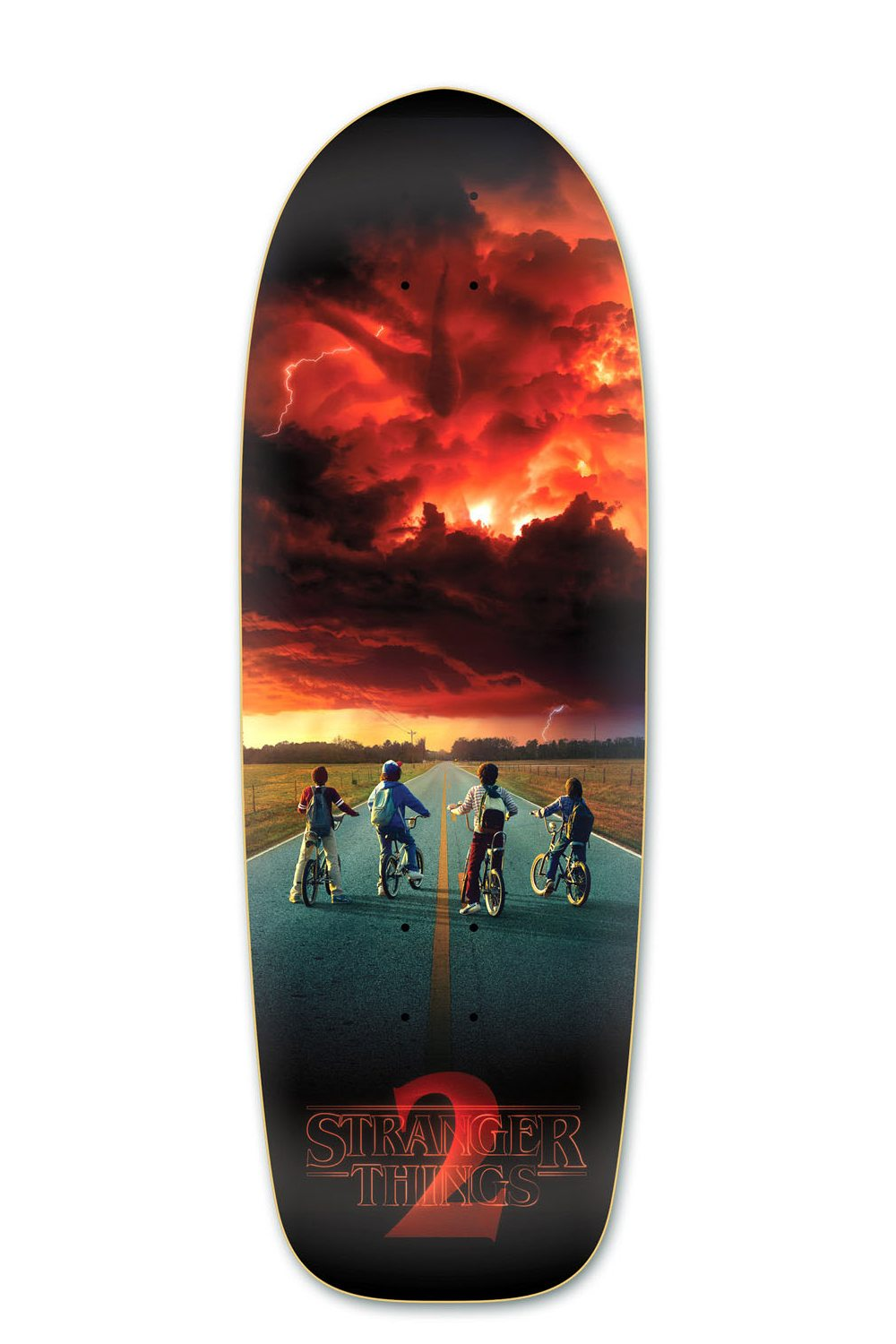 Stranger Things 2 ST2 Road Poster DeckMadrid Skateboards - New Stranger Things Season 2 Merchandise on the Way as BoxLunch Teams with Netflix