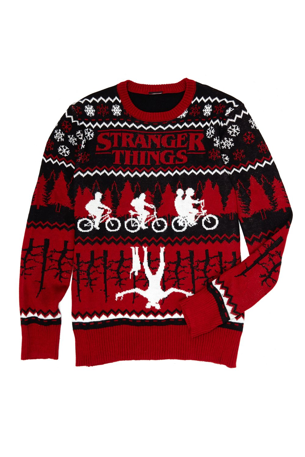 Stranger Things Holiday Sweater - New Stranger Things Season 2 Merchandise on the Way as BoxLunch Teams with Netflix