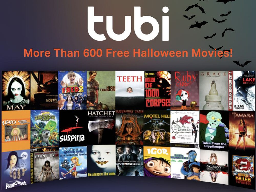 TubiHalloweenHorrorFest2 - Tubi TV Announces Halloween HorrorFest