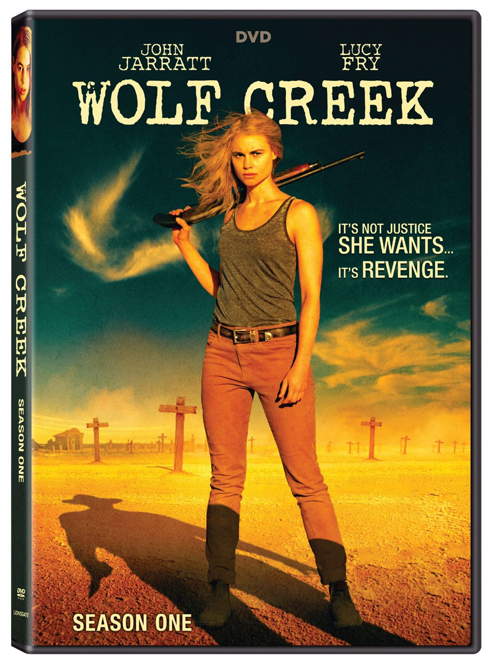 Wolf Creek S1 DVD amaray - Wolf Creek Season 2 Gets an All-New Teaser Trailer