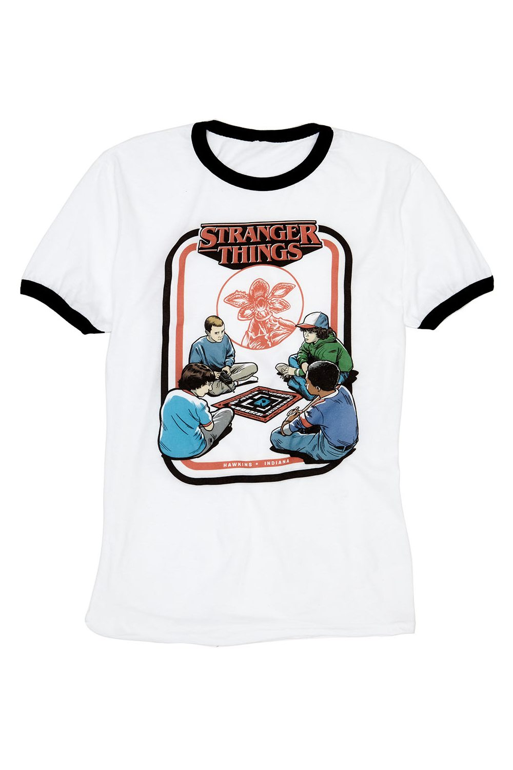 Womens Apparel Stranger Things Ringer Tee - New Stranger Things Season 2 Merchandise on the Way as BoxLunch Teams with Netflix