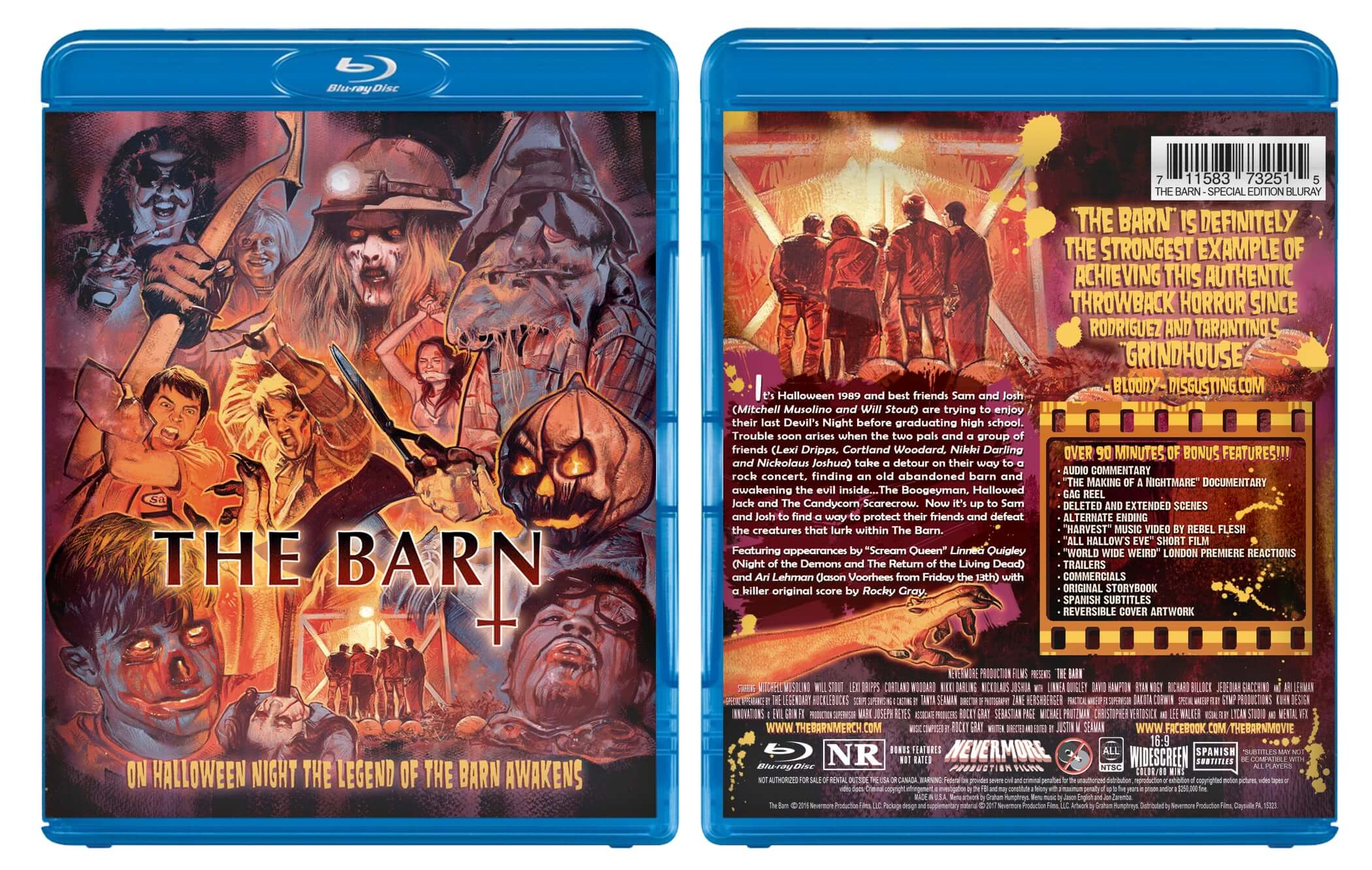 bluray pic Graham Humphreys bluray case flat 1 - The Barn Opens Its Doors on Blu-ray with Stunning New Artwork by Graham Humphreys
