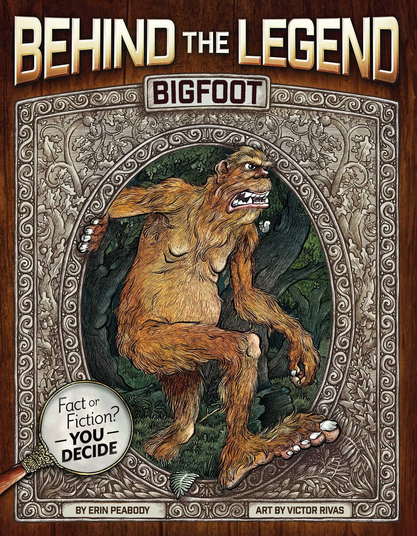 btl bigfoot - Behind the Legend Book Series Perfect Intro to Horror for Kids