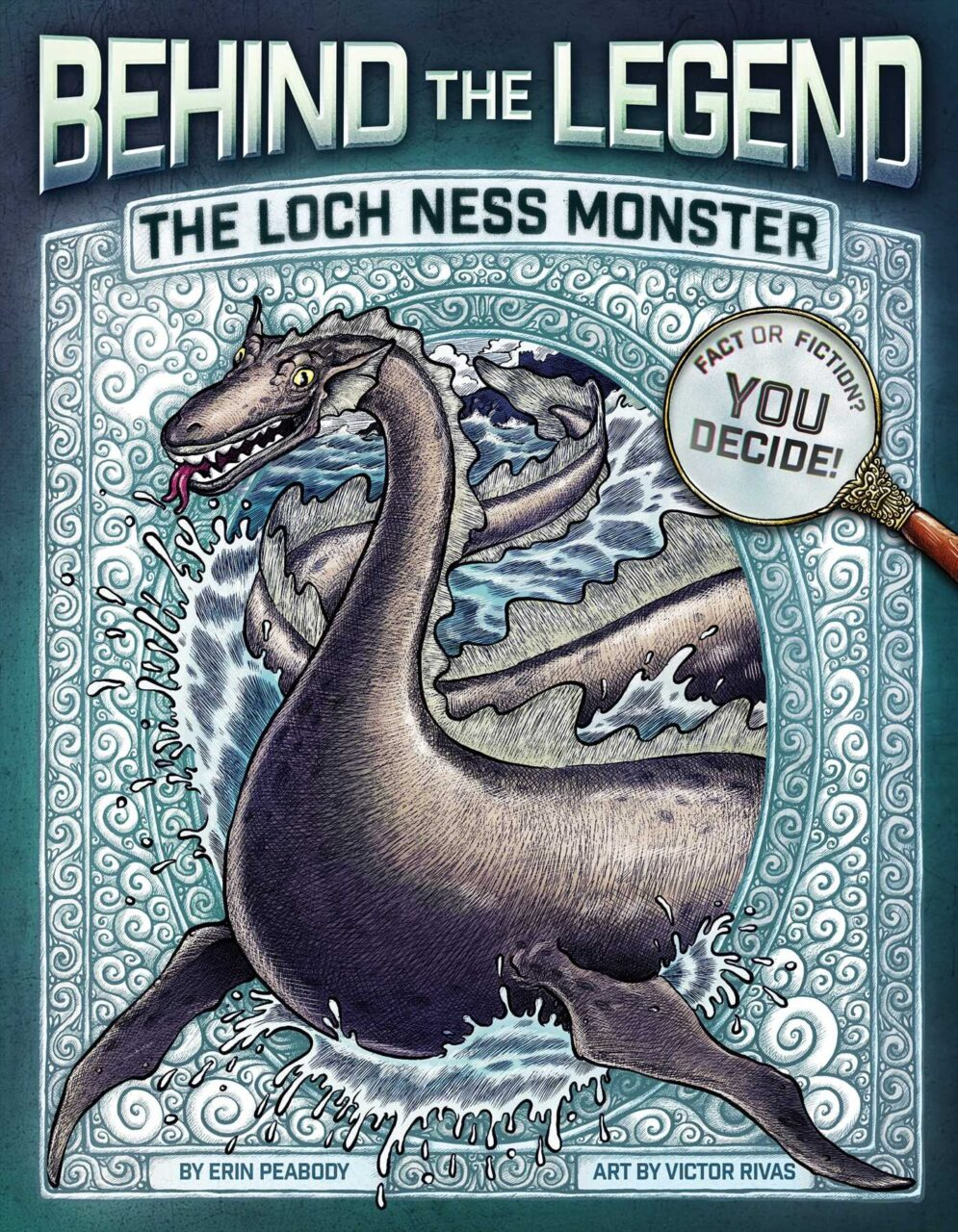 btl lochness scaled - Behind the Legend Book Series Perfect Intro to Horror for Kids