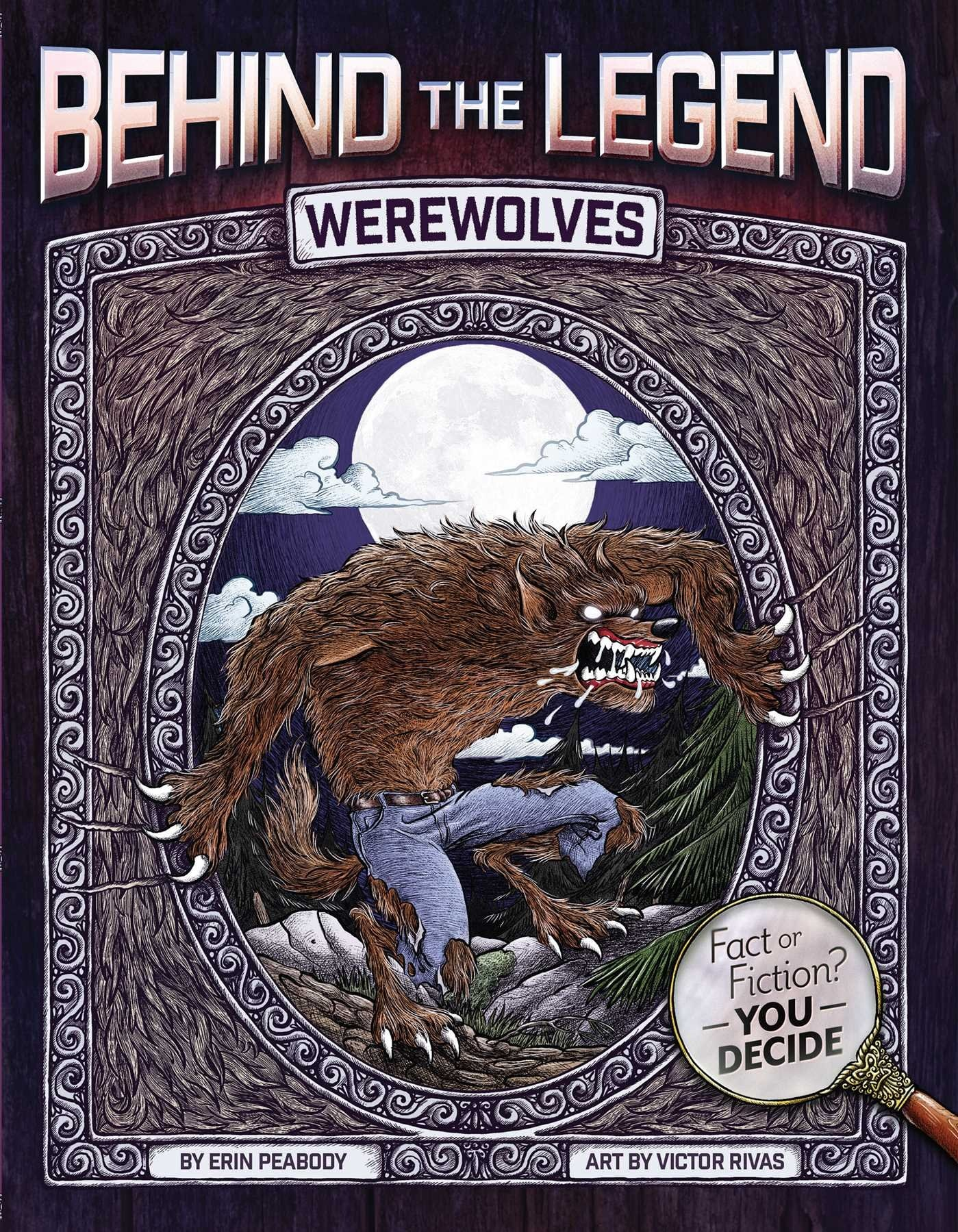 btl werewolves - Behind the Legend Book Series Perfect Intro to Horror for Kids
