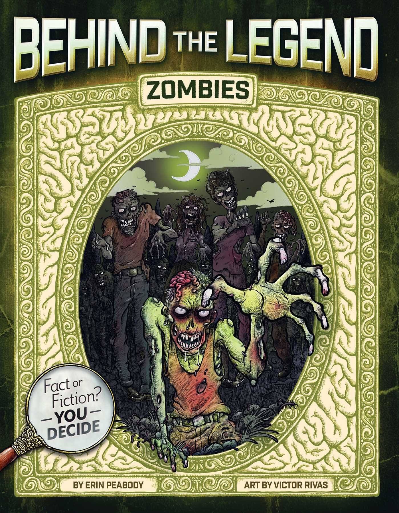 btl zombies - Behind the Legend Book Series Perfect Intro to Horror for Kids
