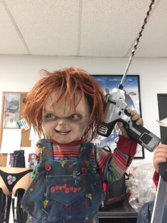 cult of chucky bts 101 336x448 - Cult of Chucky - FX Designer Tony Gardner Speaks! Exclusive Behind-the-Scenes Video and Images!