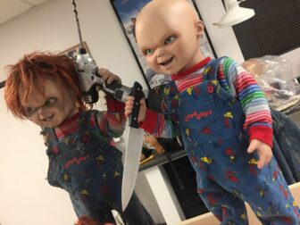 cult of chucky bts 203 336x252 - Cult of Chucky - FX Designer Tony Gardner Speaks! Exclusive Behind-the-Scenes Video and Images!