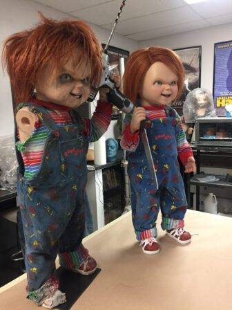 cult of chucky bts 405 336x448 - Cult of Chucky - FX Designer Tony Gardner Speaks! Exclusive Behind-the-Scenes Video and Images!