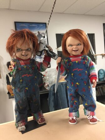 cult of chucky bts 506 336x448 - Cult of Chucky - FX Designer Tony Gardner Speaks! Exclusive Behind-the-Scenes Video and Images!