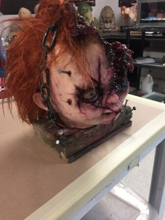 cult of chucky bts 607 336x448 - Cult of Chucky - FX Designer Tony Gardner Speaks! Exclusive Behind-the-Scenes Video and Images!