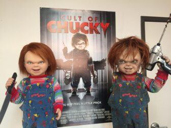 cult of chucky bts 809 336x252 - Cult of Chucky - FX Designer Tony Gardner Speaks! Exclusive Behind-the-Scenes Video and Images!