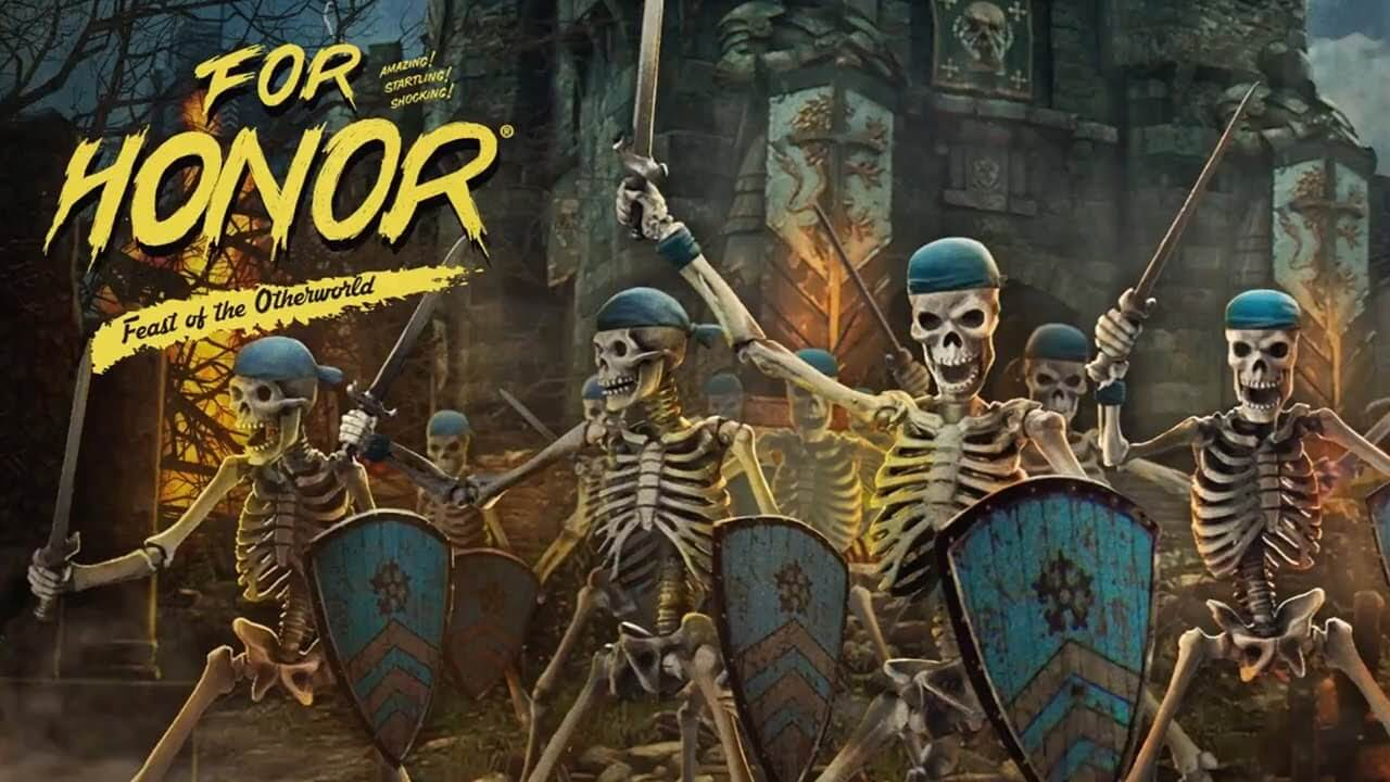 for honor feast of the otherworld 1 - Skeleton Warriors March Into For Honor's Feast of the Otherworld Halloween Event