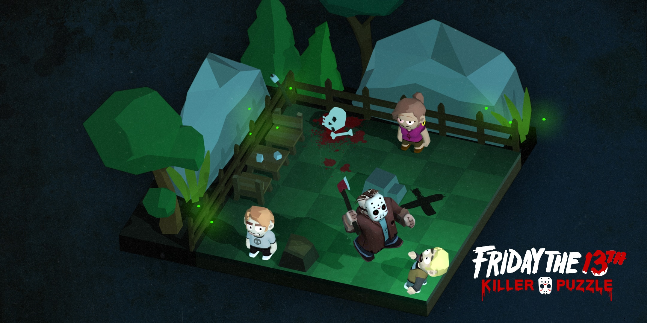 friday the 13th killer puzzle 3 - Friday the 13th: Killer Puzzle Coming from Slayaway Camp Creators; Exclusive: Developer Jason Kapalka Speaks!