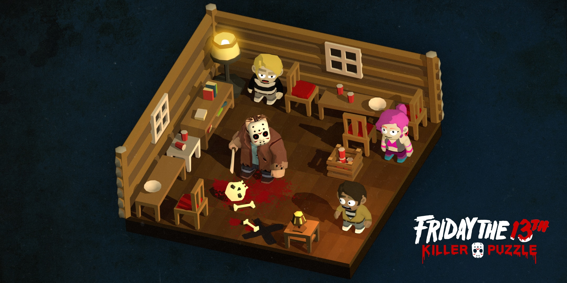 friday the 13th killer puzzle 6 - Friday the 13th: Killer Puzzle Coming from Slayaway Camp Creators; Exclusive: Developer Jason Kapalka Speaks!
