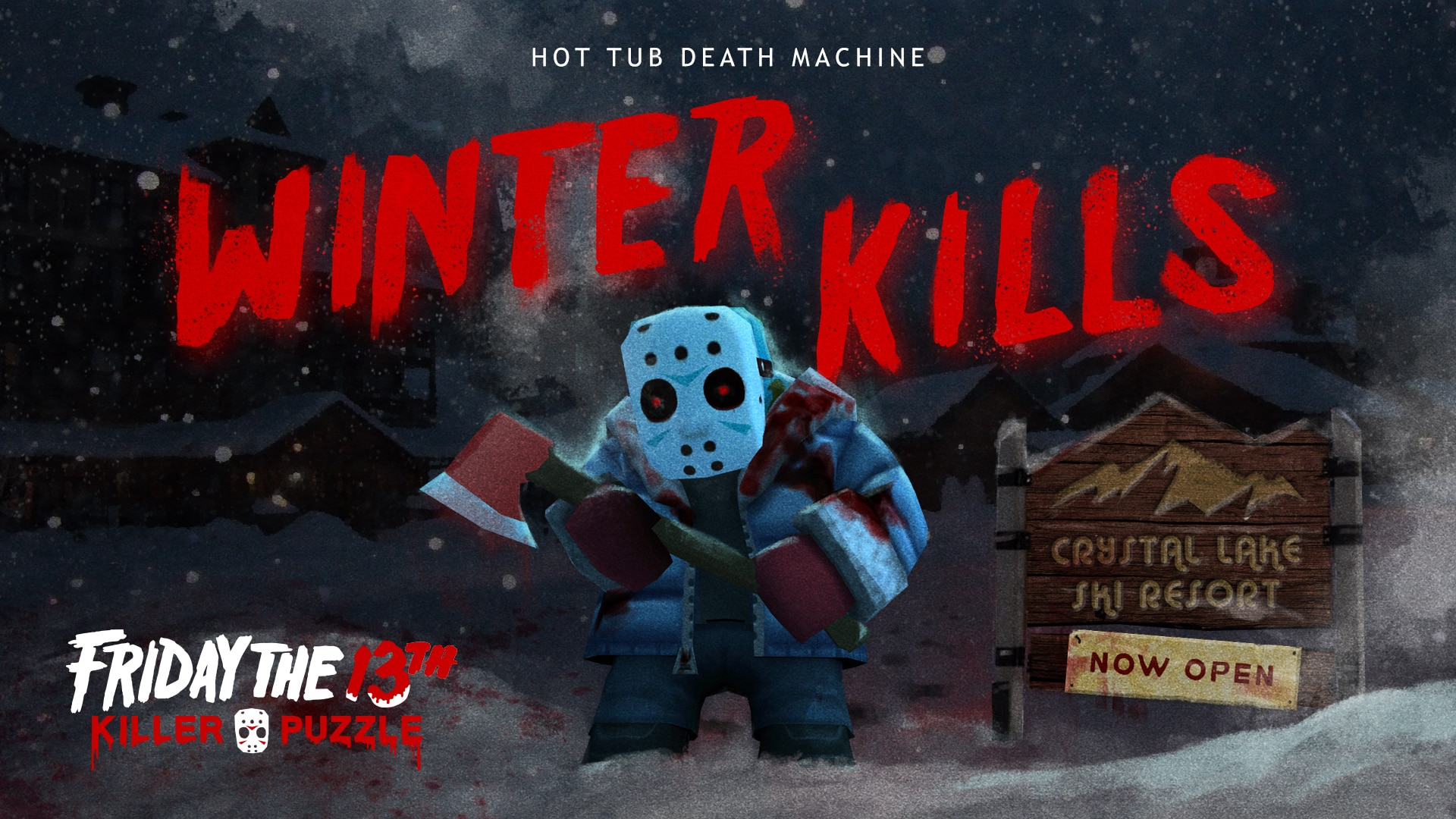 friday the 13th killer puzzle 7 - Friday the 13th: Killer Puzzle Coming from Slayaway Camp Creators; Exclusive: Developer Jason Kapalka Speaks!