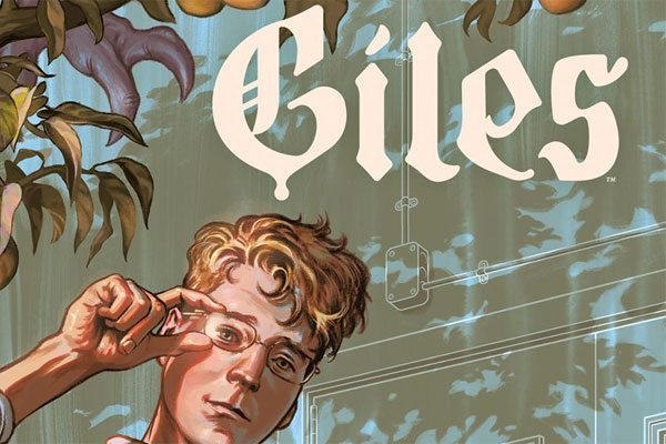 giles comic s - NYCC 2017: Giles Becomes the Student in New Buffy Comic Series