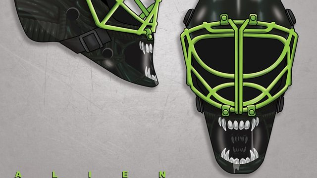 horror hockey s - It's NHL Season and We Have Some Incredible Horror Hockey Helmets for You to Look At!