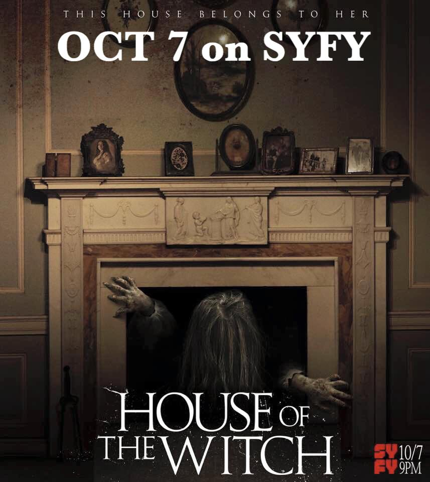 house of the witch - Syfy Dares You to Enter the House of the Witch This Weekend