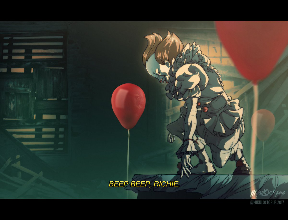 It S Pennywise Gets An Anime Adaptation Sorta Dread