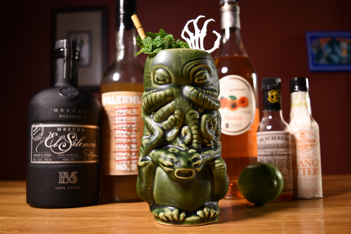 oaxacandeadcocktail - Need Something Tropical For This Halloween? Try The Oaxacan Dead Tiki Cocktail!