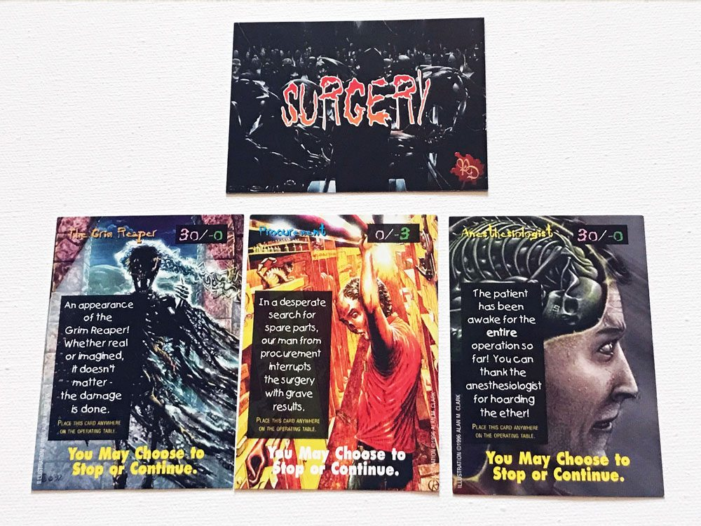 pain doctors SurgeryCards - Pain Doctors: The Game of Recreational Surgery Board Game Overview - Last Meeple Standing