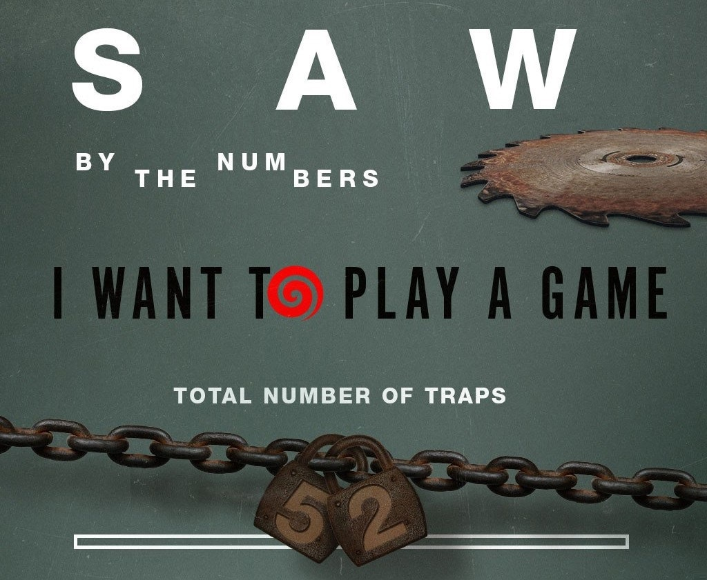 saw by the numbers 1 - Jigsaw Infographic Examines the Saw Franchise By the Numbers