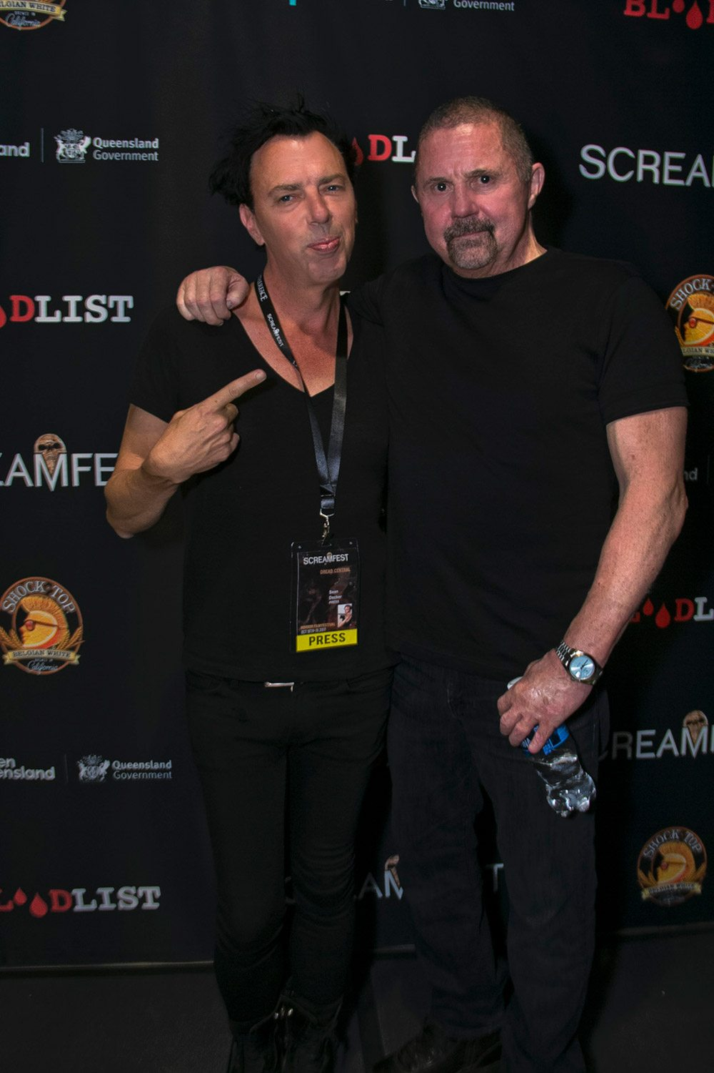 Sean Decker and Kane Hodder