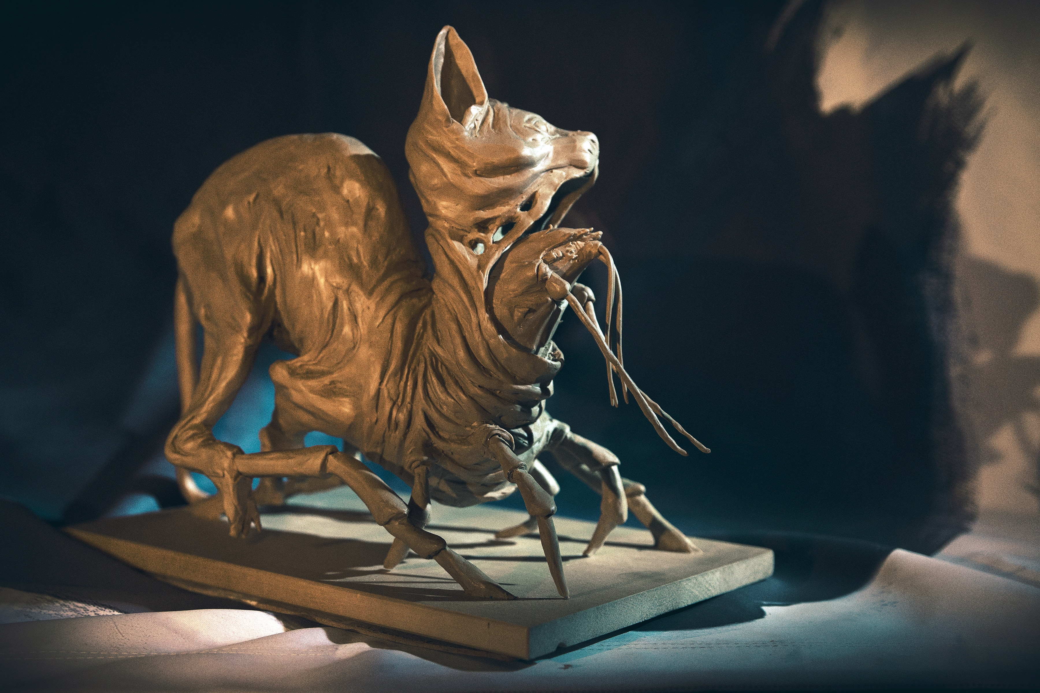 "sinkingcitysculpture 5 - Exclusive: The Sinking City Team Uses These Unsettling Sculptures to ""Get in the Mood"""
