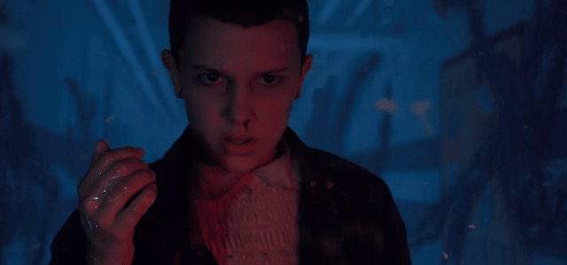 st11 - Stranger Things 2 Clip Showcases Eleven Escaping The Upside Down