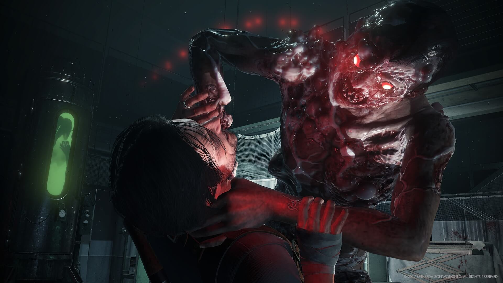 the evil within2 monster strangle 1 - The Evil Within 2 Gets a Maniacal Launch Trailer