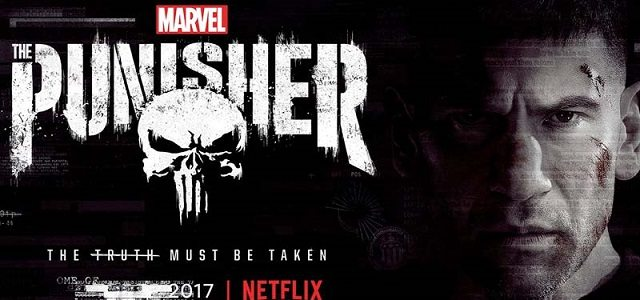 the punisher banner copertina - Netflix's The Punisher Gets a New Banner Poster
