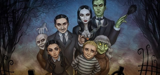 the addams family by daekazu d31rpn2 Copy - The Addams Family Animated Film Snags Sausage Party Director