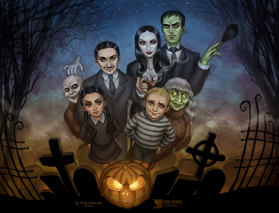 Addams Family Halloween Party.The Addams Family Animated Film Snags Sausage Party Director Dread