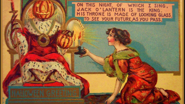 victorian halloween1 750x422 - Trick-or-Sweetheart: Halloween Was Oddly Romantic in Victorian Times