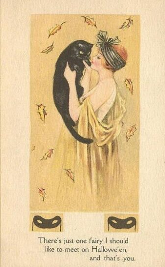 victorian halloween10 336x543 - Trick-or-Sweetheart: Halloween Was Oddly Romantic in Victorian Times