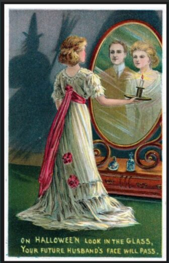 victorian halloween3 336x524 - Trick-or-Sweetheart: Halloween Was Oddly Romantic in Victorian Times