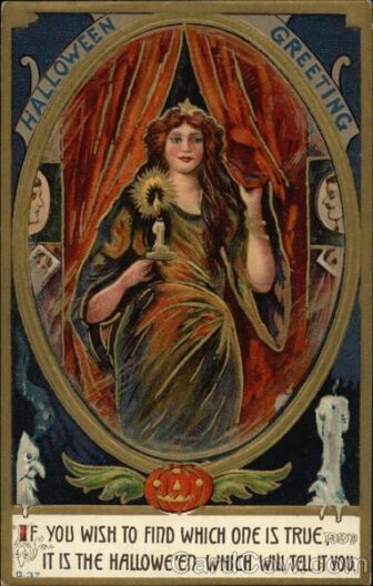victorian halloween5 336x528 - Trick-or-Sweetheart: Halloween Was Oddly Romantic in Victorian Times
