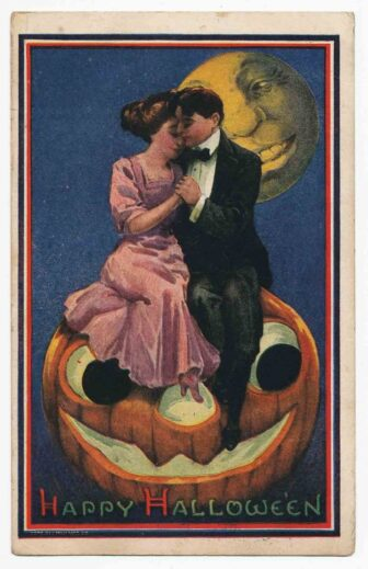 victorian halloween6 336x519 - Trick-or-Sweetheart: Halloween Was Oddly Romantic in Victorian Times
