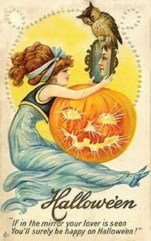 victorian halloween7 - Trick-or-Sweetheart: Halloween Was Oddly Romantic in Victorian Times