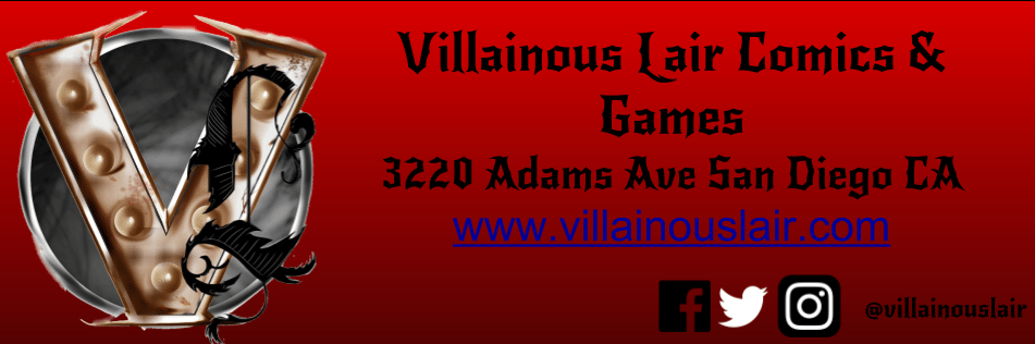 villainous lair banner - Pain Doctors: The Game of Recreational Surgery Board Game Overview - Last Meeple Standing