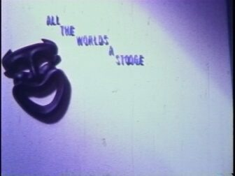 All The Worlds A Stooge Title Screenshot 336x252 - Go Pre-Evil Dead with Scott Spiegel and Bill Ward's Super 8 Shorts - AVAILABLE NOW! Must Watch Videos Right Here!
