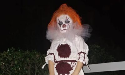 BabyPennywiseFI 400x240 - My 3-Year-Old Wanted to Dress as Pennywise This Halloween; Here's How It Went
