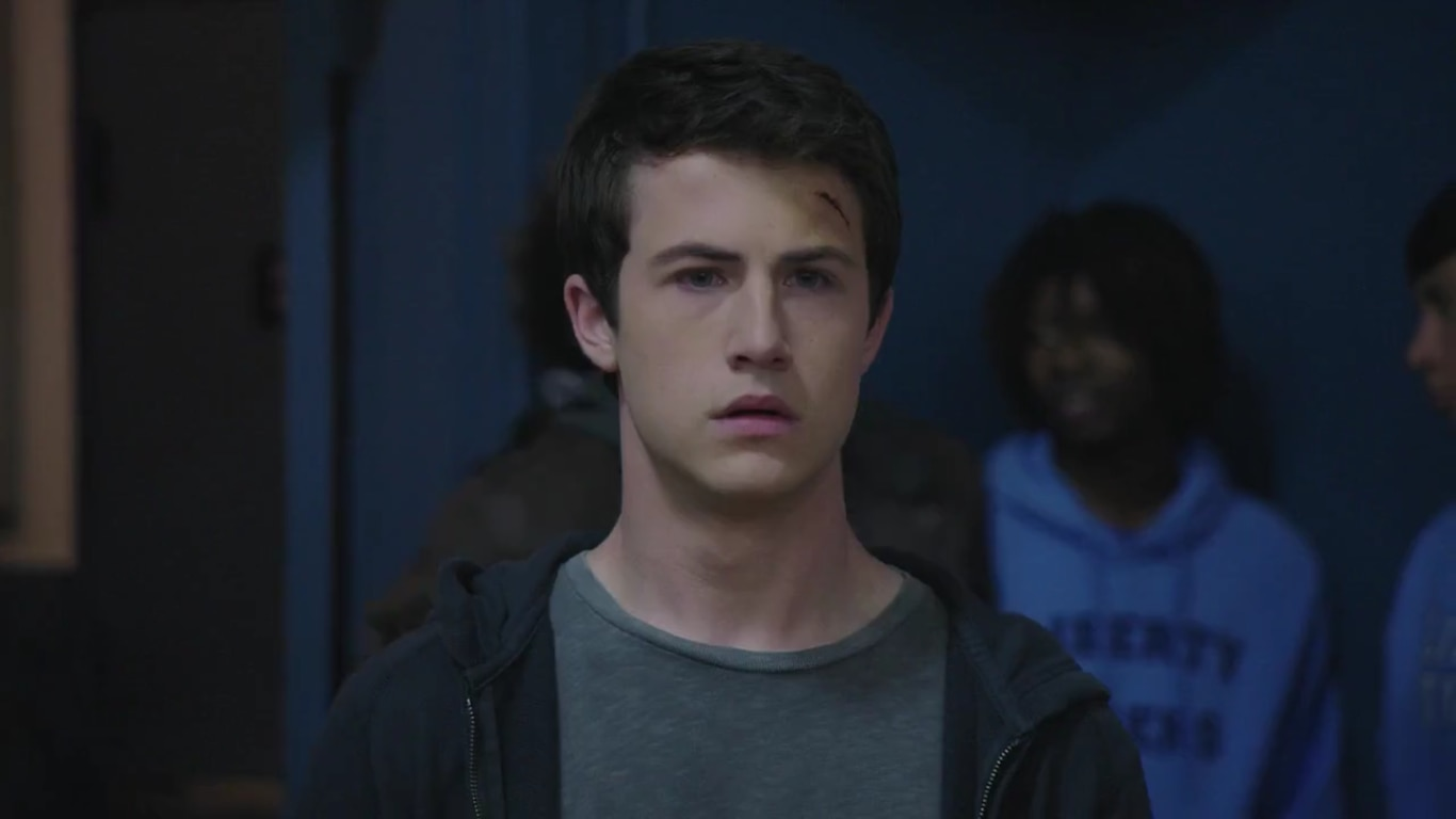 Dylan Minnette - Dylan Minnette Scared at The Open House