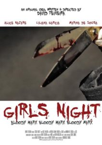 GirlsNight 212x300 - Girls Night Short Film Review - Bloody Mary Attends A Sleepover